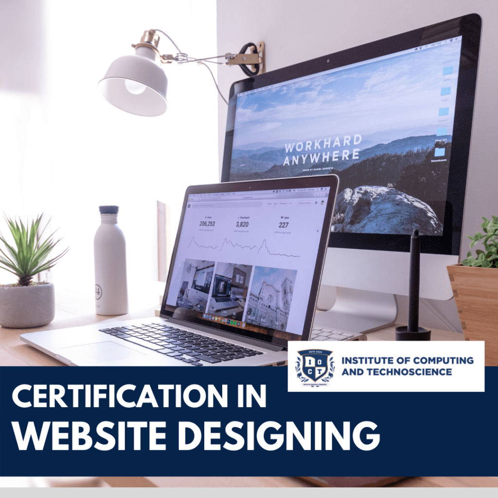 certification in website designing course in mira road